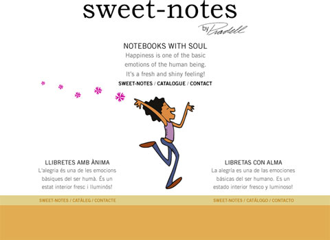 Sweet-Notes, by Pradell